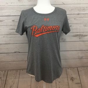 Baltimore Orioles Under Armour Women's Shirt NWT!